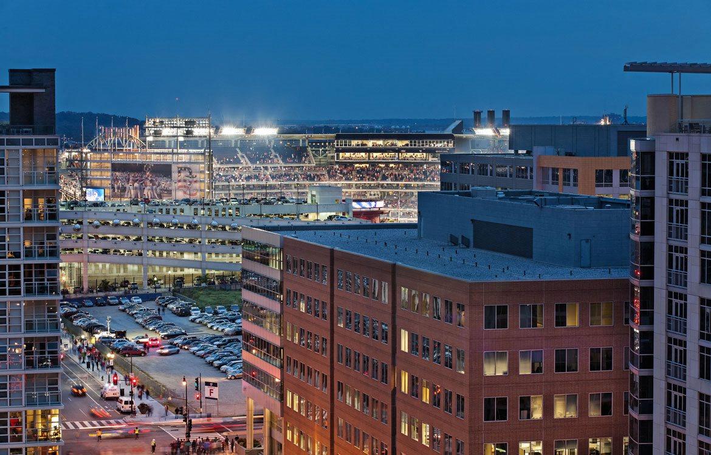 Nationals Stadium, Apartments in Washington, D.C