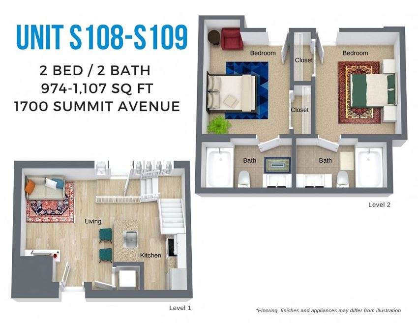 Summit Two Bed