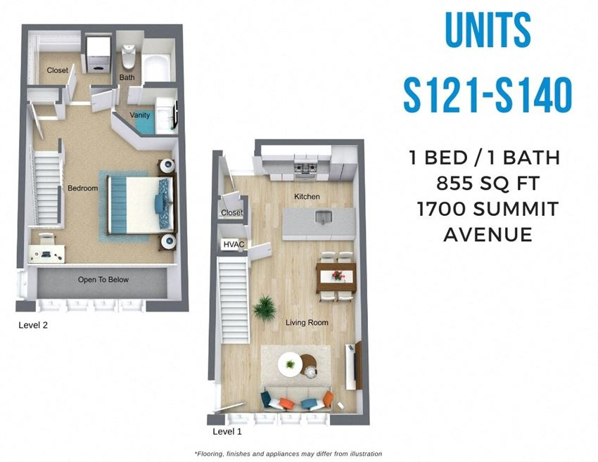 Summit One Bed