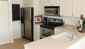 Kitchen of apartments in Muskegon