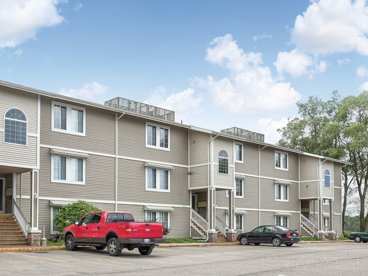 Updated Apartment Exterior Hidden Cove Apartments Norton Shores MI
