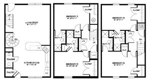 4 BR Townhome