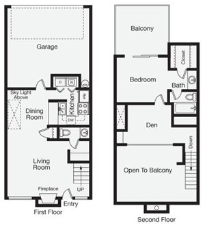 One Bedroom Apartment Home