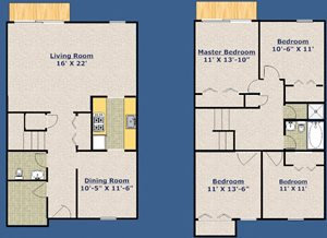 Four Bedroom - Townhouse