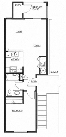 The Kelly Floor Plan 1