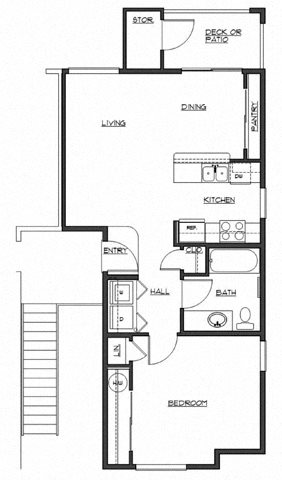 The Keaton Floor Plan 2