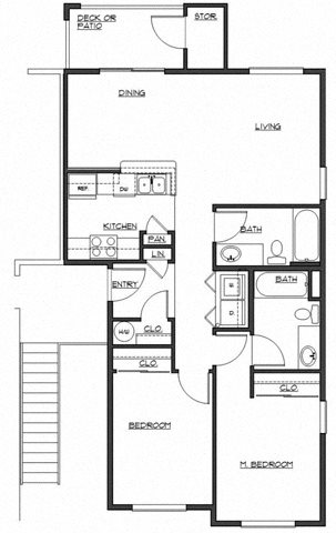 The Chaplin Floor Plan 3
