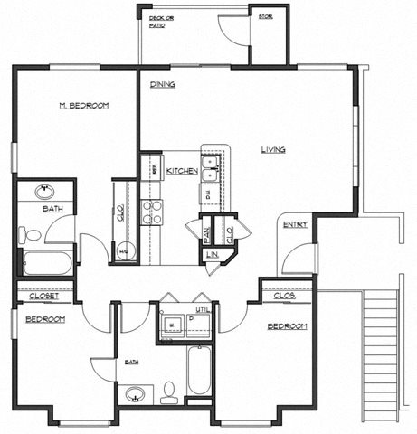 The Lancaster Floor Plan 5