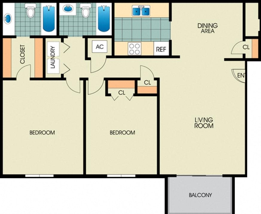 The Camellia Floor Plan 1