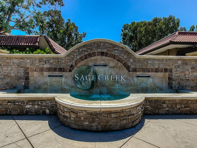 Signage of the Community at Sage Creek Apartment Homes, Simi Valley, 93063