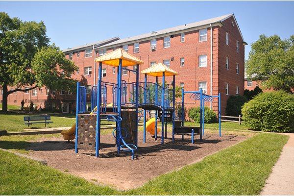 Community Playground at Olde Salem Village, Falls Church, VA,22041