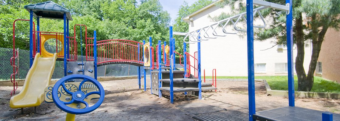 Playground with Modern Equipment at Sussex Square, Suitland, MD, 20746