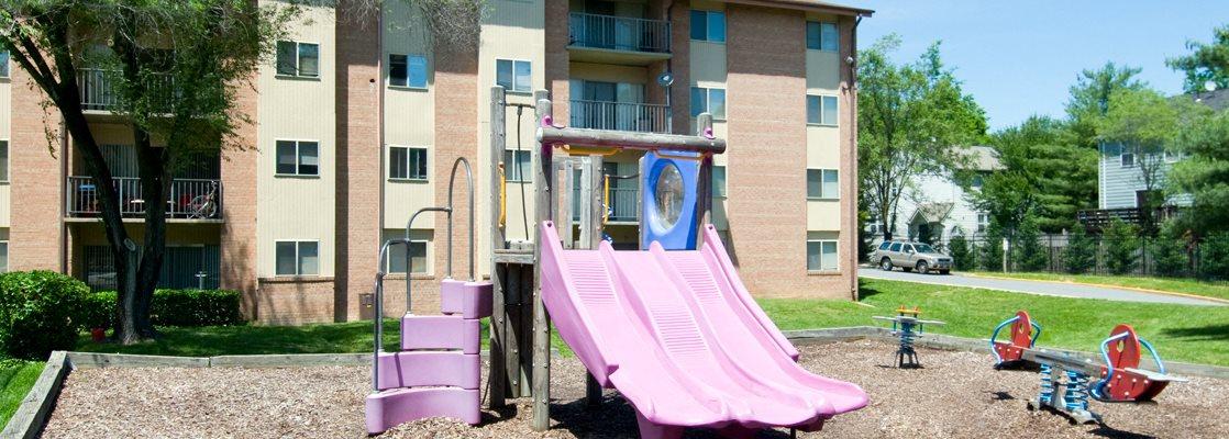 Playground with Modern Equipment at Townley, Beltsville, MD, 20705