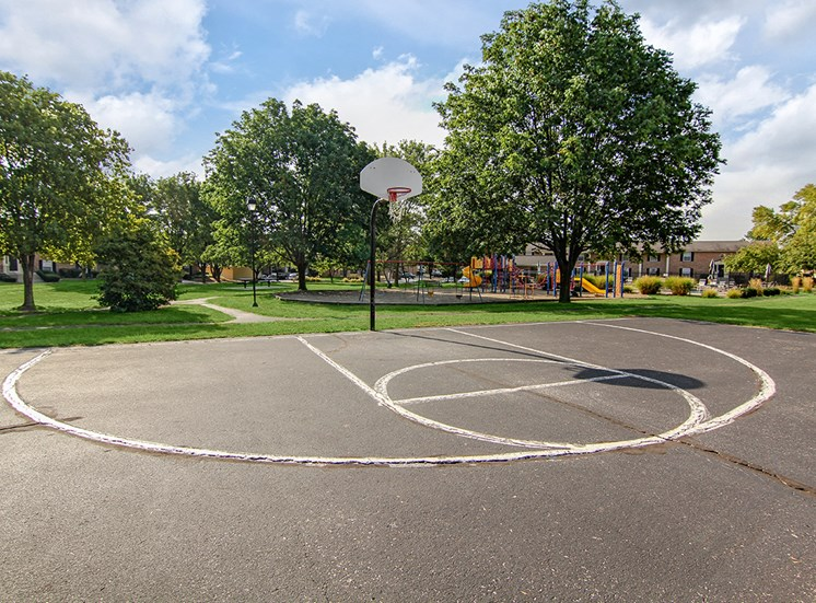 Basketball Court at Ashmore Trace