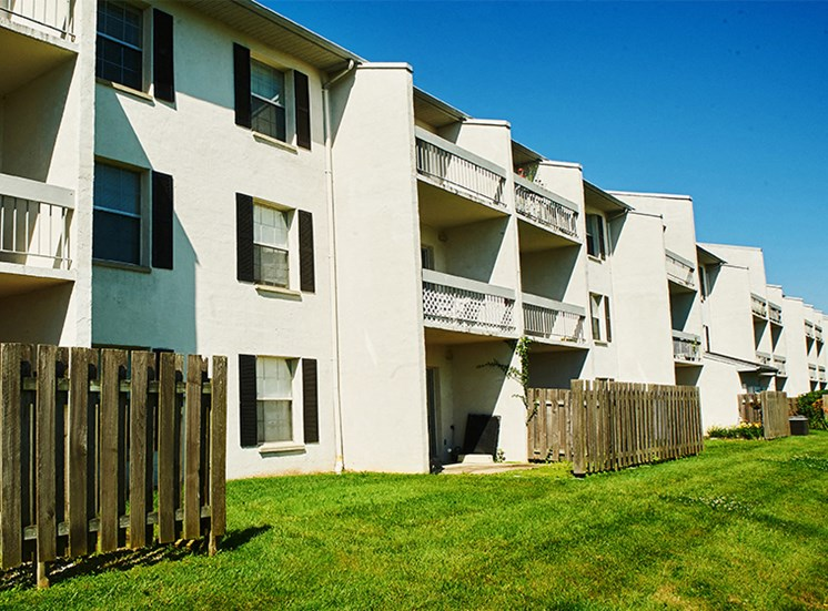 Resident apartments come with a patio or balcony space.