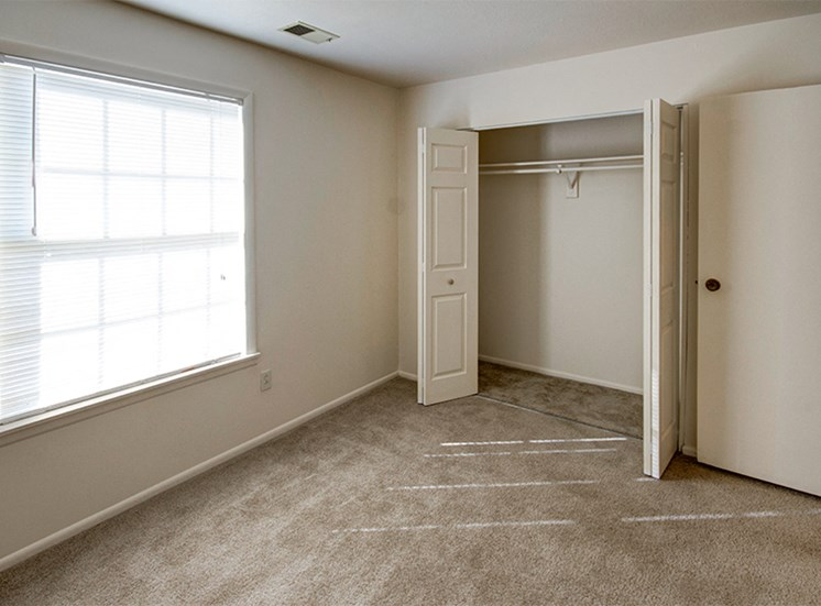 Guest Bedroom with large closet at Briarwood Toledo