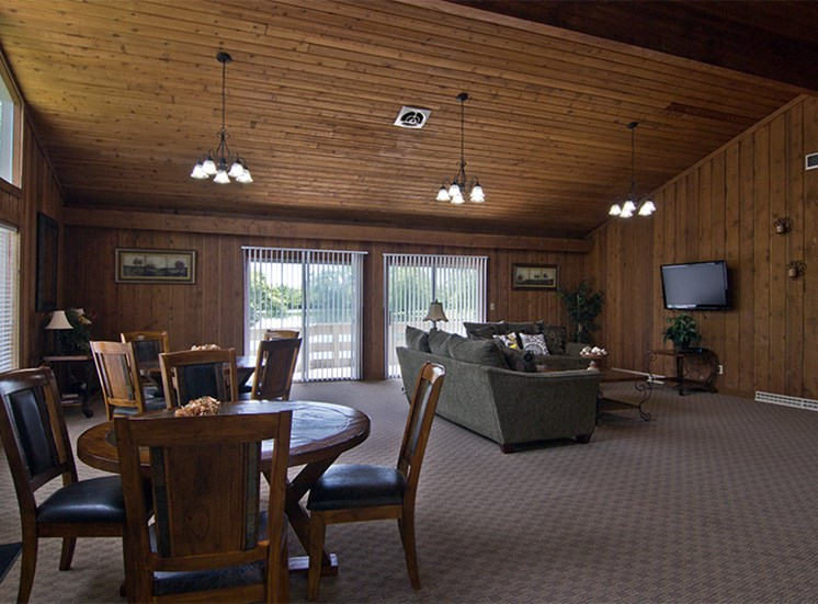 Clubhouse and entertainment area available for resident usage