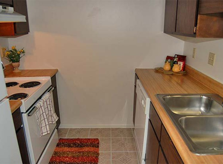 Kitchen at Brookview Apartments