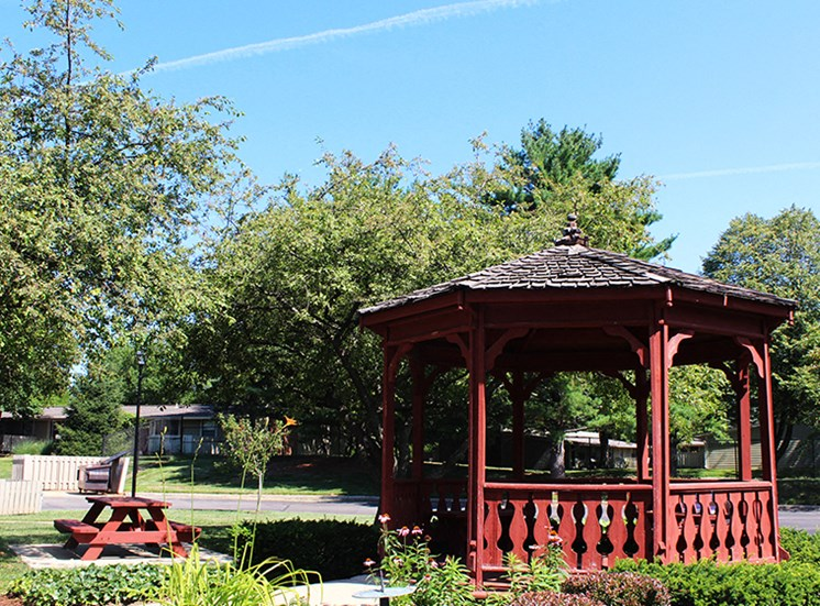 Outdoor Recreational Area and Gazebo