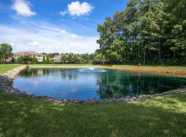 Tranquil Pond at Cambridge Square Chesapeake