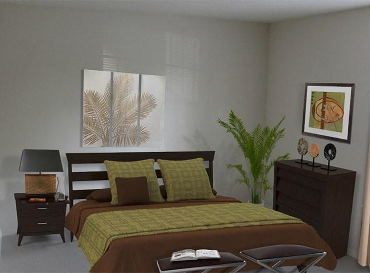 Bedroom at Cambridge Square Flint