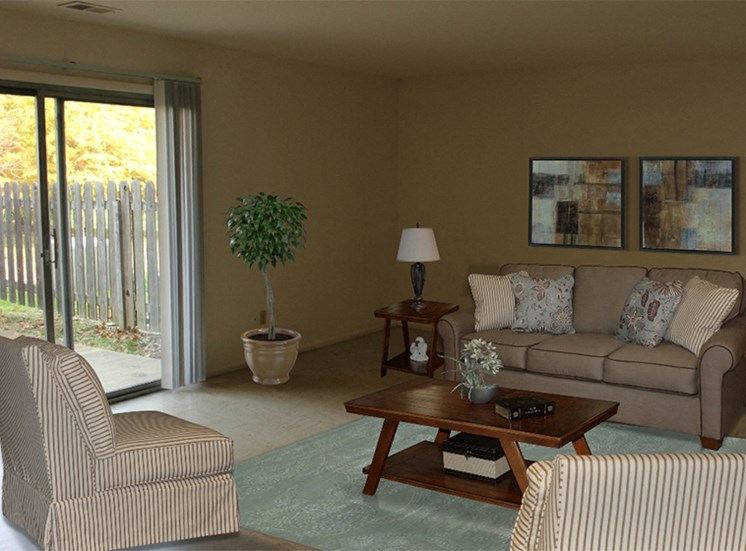 Spacious Living Room at Cambridge Square Flint