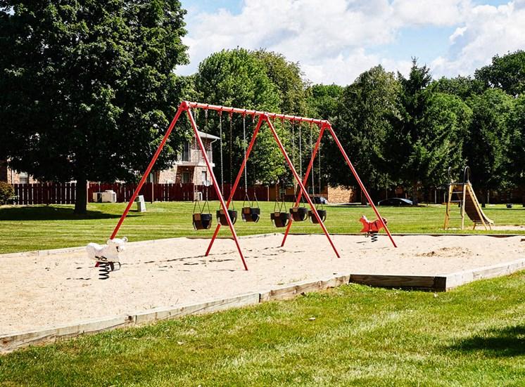 Play Park at Cambridge Square in Grand Rapids