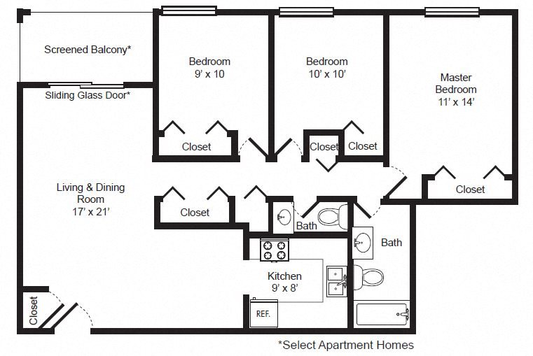 Floor plans of cambridge square lauderdale lakes - Cheap 3 bedroom apartments in fort worth tx ...