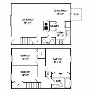 3 Bedroom Townhome – Empowerment