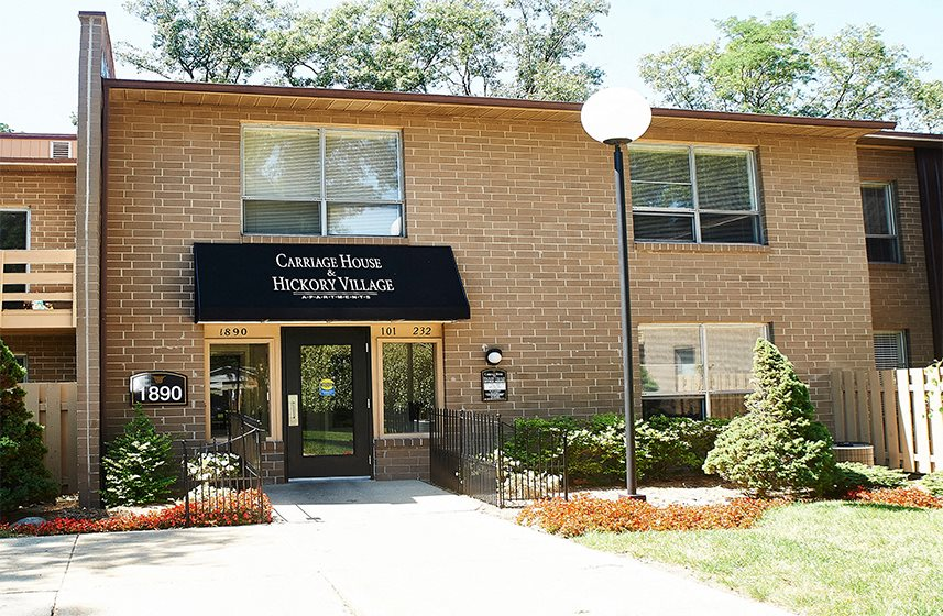 Leasing Office and Information Center at Carriage House Muskegon