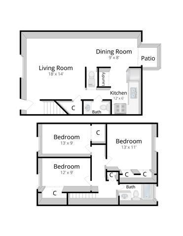 The Kensington Floor Plan 4