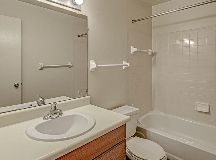 Bathroom at Thompson Village Apartments