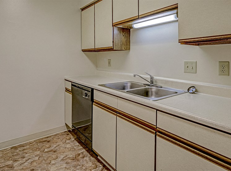Kitchen at Thompson Village Apartments