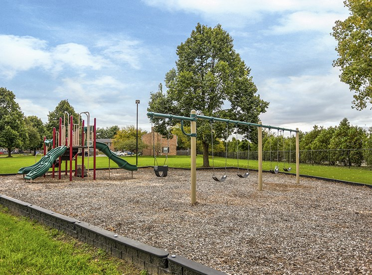 Mishawaka Apartments with a playground