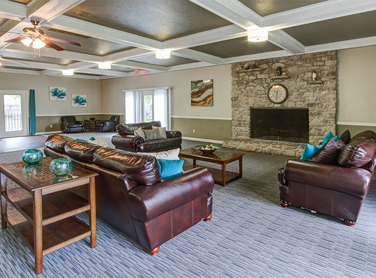 Clubhouse at Woodlake Apartments
