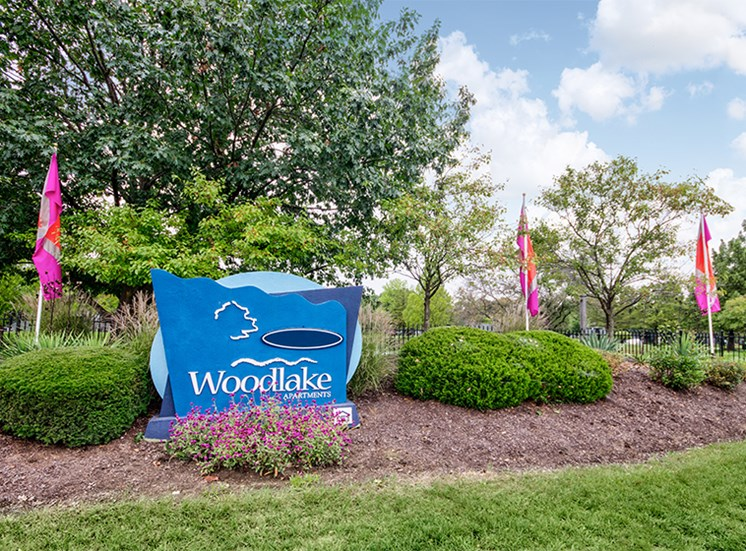 Property Entrance at Woodlake Apartments