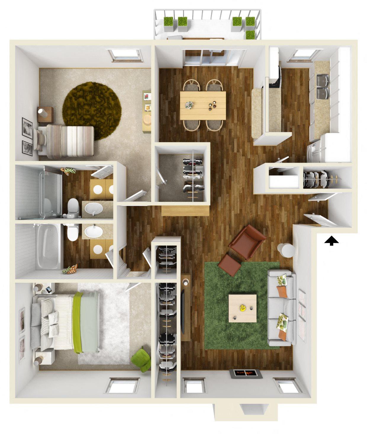The Gibratlar Floor Plan 2