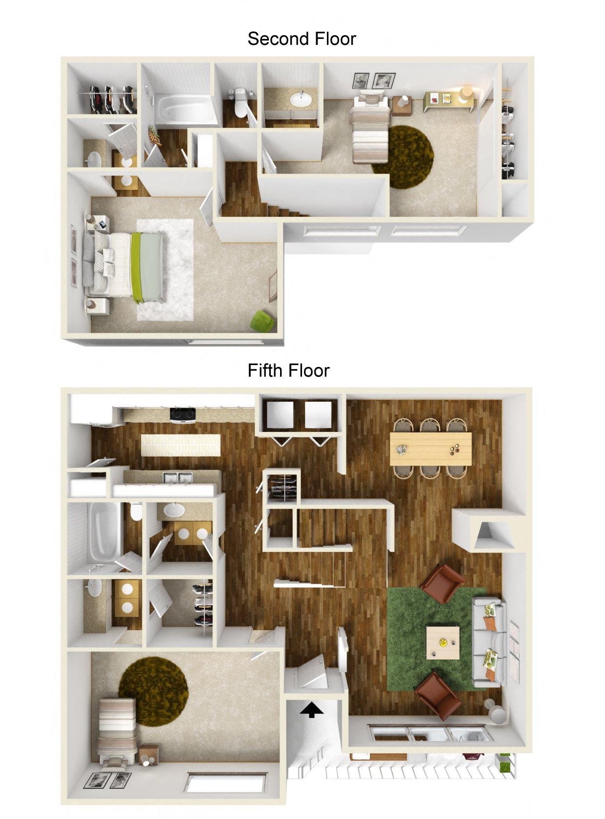 The Pacific Floor Plan 6