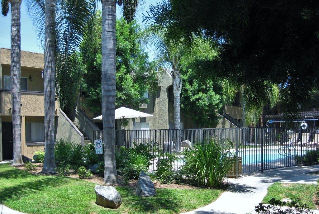 Walking Trail at Scripps Poway Villas, Poway, CA, 92064