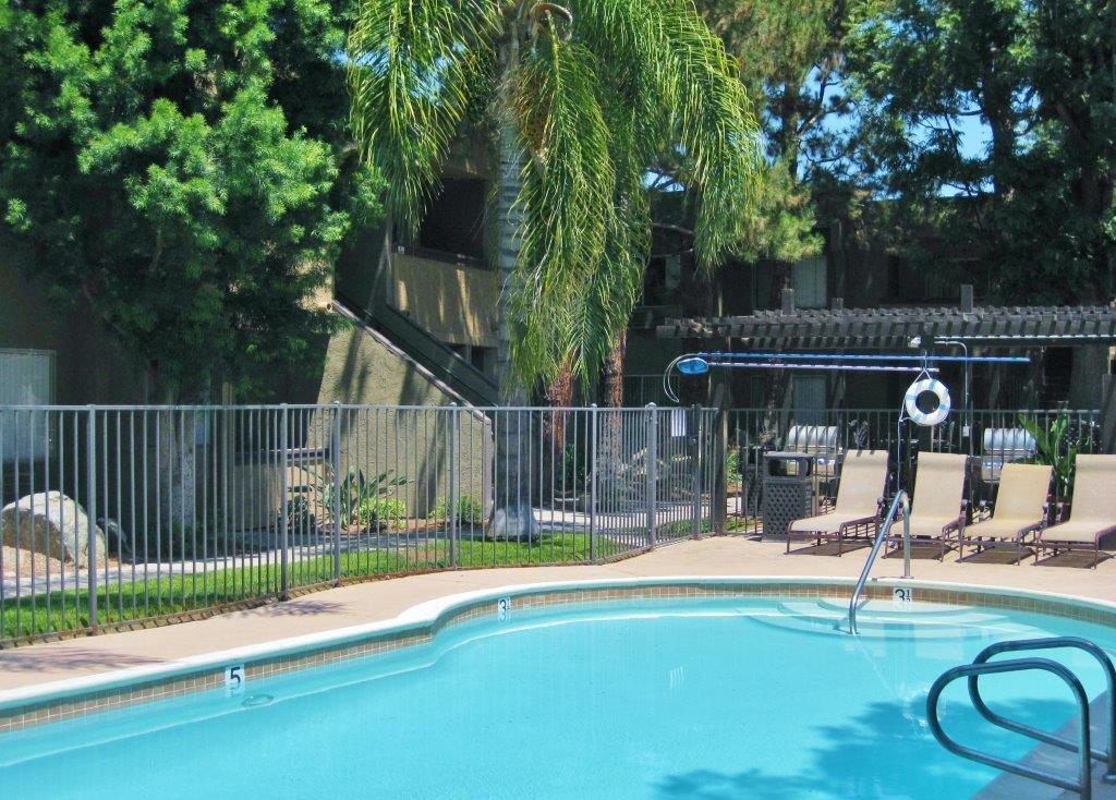 Poolside Cabanas at Scripps Poway Villas, Poway, CA, 92064