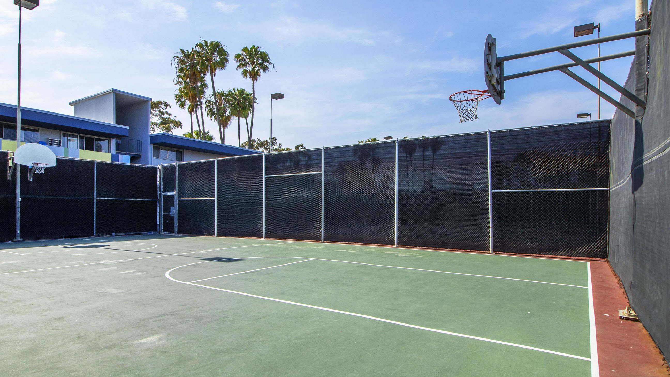 Basketball Court at Milano Apartments 20900 Anza Ave Torrance, CA 90503