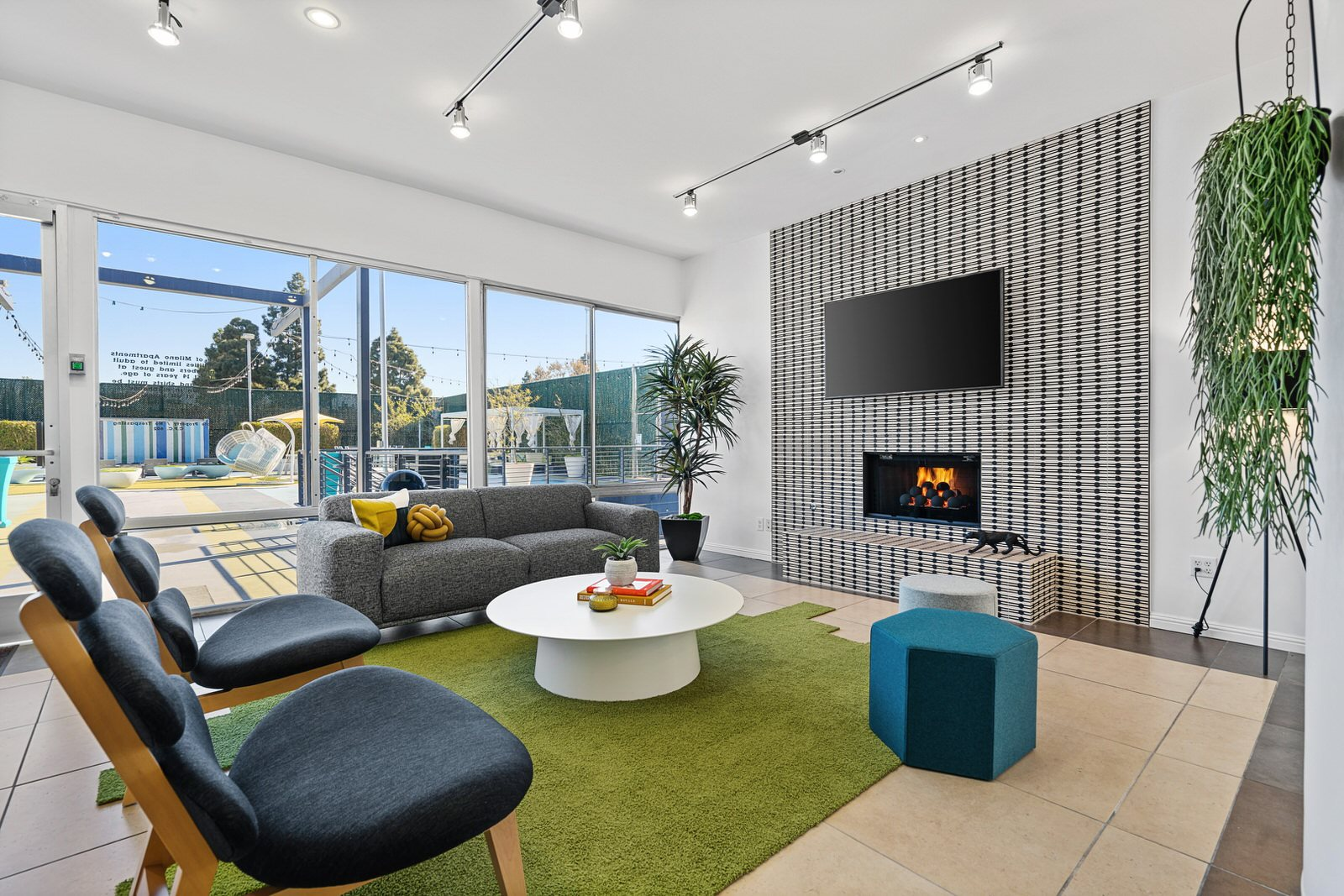 Cover Photo - Clubhouse Interior at Milano Apartments 20900 Anza Ave Torrance, CA 90503