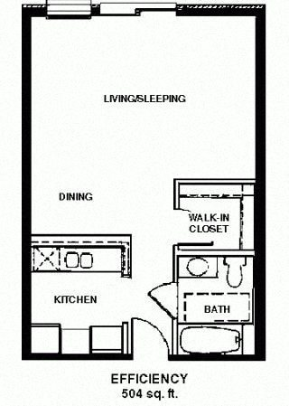 Studio Floor Plan 10