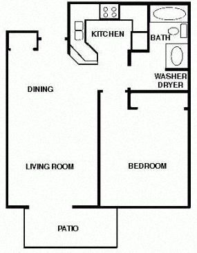 1 Bedroom 1 bath Ranch