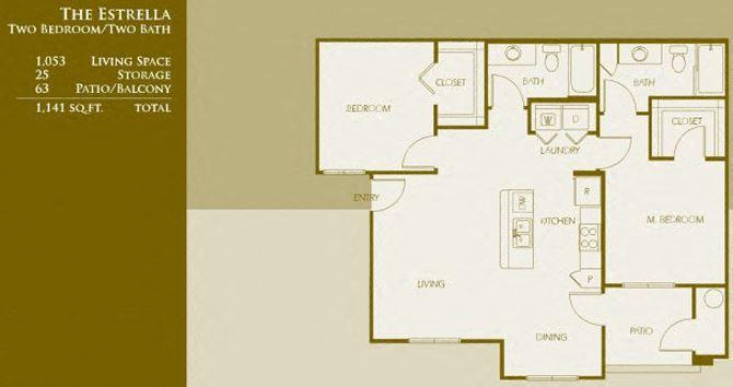 B2 | Two Bedroom