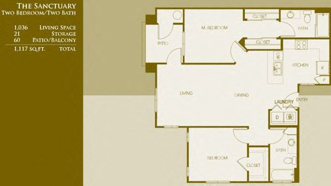 B1 | Two Bedroom