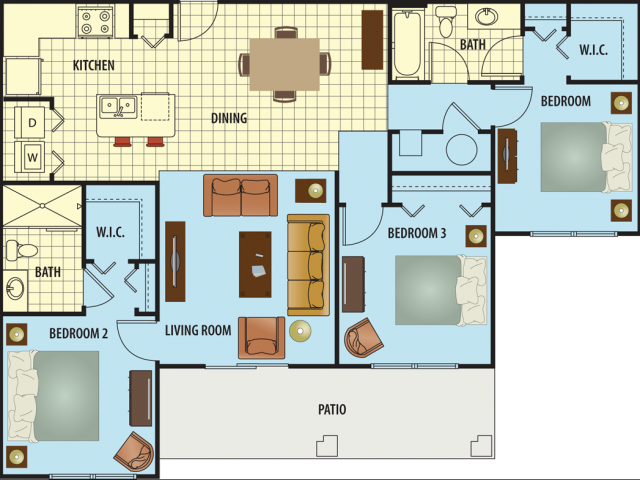 Harvest Floor Plan 5