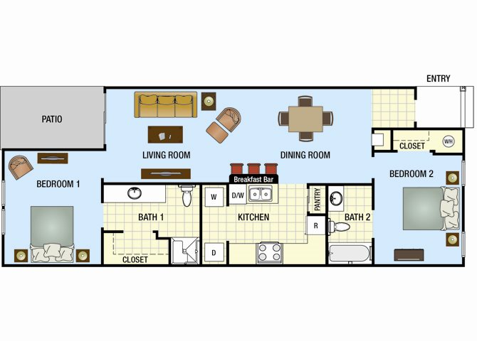 Magnolia Floor Plan 1