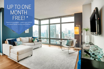 555 West Kinzie Street Studio-3 Beds Apartment for Rent Photo Gallery 1
