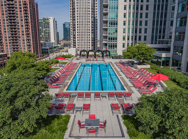 Alta at K Station's rooftop terrace features a large pool and cabanas